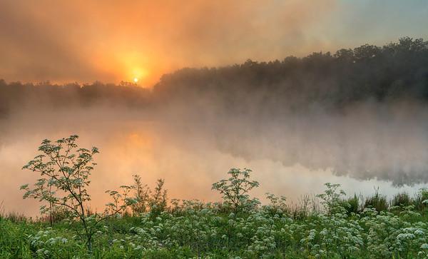 Foggy Sunrise at Indigo Lake