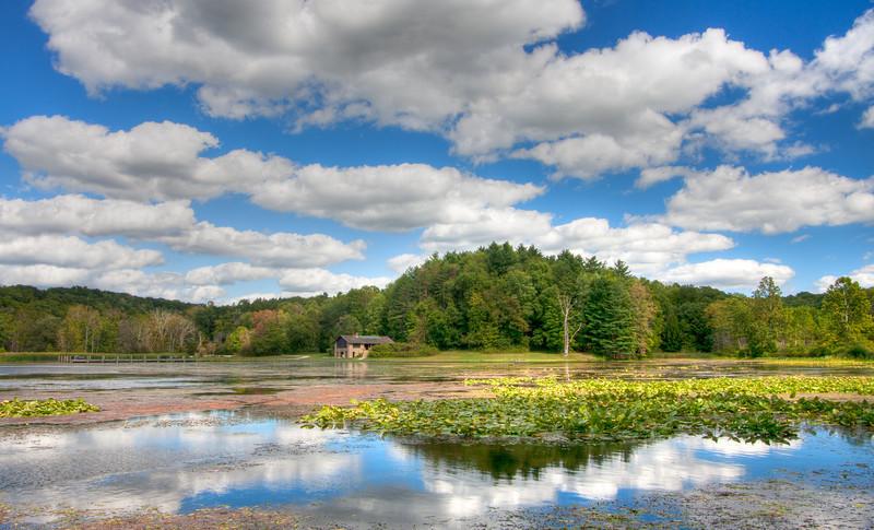 Beautiful afternoon at Kendall Lake