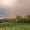 Rainbow over Beaver Marsh