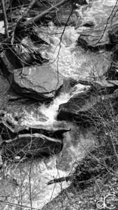 Brandywine Creek Below the Falls, Cuyahoga Valley National Park, April 2016.
