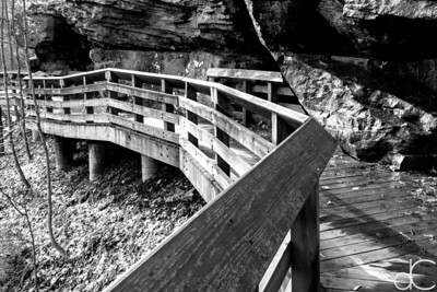 The Boardwalk at Brandywine Falls, Cuyahoga Valley National Park, April 2016.