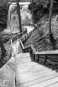Brandywine Falls, Cuyahoga Valley National Park, April 2016.