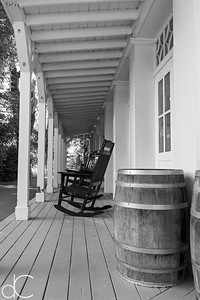 Side Porch, Boston Store Visitor Center, Cuyahoga Valley National Park, August 2016.