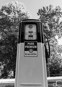 PURE Premium, M.D. Garage, Cuyahoga Valley National Park, August 2016.