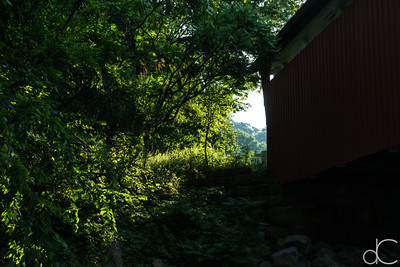 Everett Road Covered Bridge, Cuyahoga Valley National Park, August 2016.