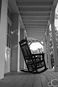 Rocking Chairs, Boston Store Visitor Center, Cuyahoga Valley National Park, August 2016.