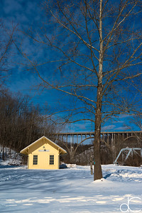 Brecksville Station, Cuyahoga Valley National Park, February 2015.