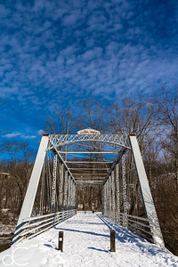 Station Road Bridge, Cuyahoga Valley National Park, February 2015.
