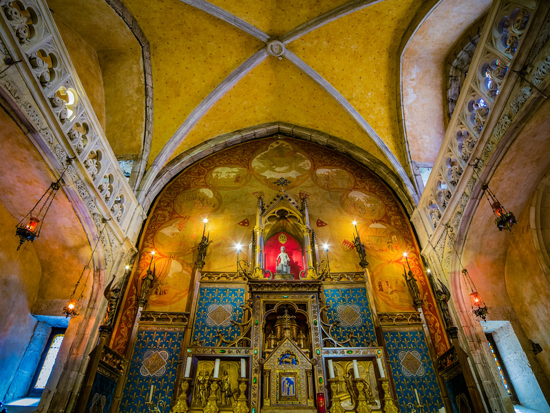 Shrine of the Black Madonna – Rocamadour, France