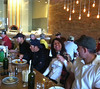 Guests dine at Pasta Vino after Sunday ride with Tom Danielson.