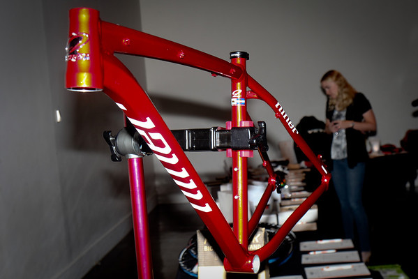 Niner frame one of the many excellent silent auction items. Photo Rob Noble.