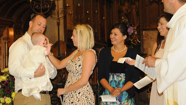 Sophie's Christening, 9 September 2012