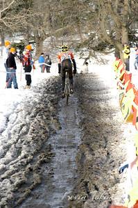 Joseph Tokarski at his first Cyclocross Nationals.