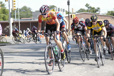 Texas State Skill Based Criterium Championships on Memorial Day. This shot was taken midway in the race. Joseph finished third in the Cat 3 race, finishing between two off the front and fourth behind him, all well in front of the rest of the field. He rode solo for about 5 laps prior to the finish.