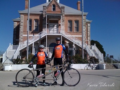 Helen and I are planning to do the MS150 on our tandem this year. Taken with SmugShot on my iPhone on a bike ride in Anderson 2009-03-29.