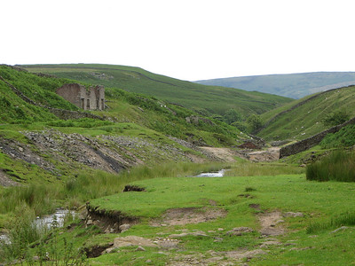 there are alot of mining works in this area just outside grassington