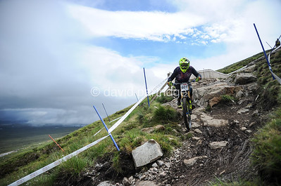 HSBC UK National Downhill Championships 2018, Glencoe Mountain, Scotland, UK