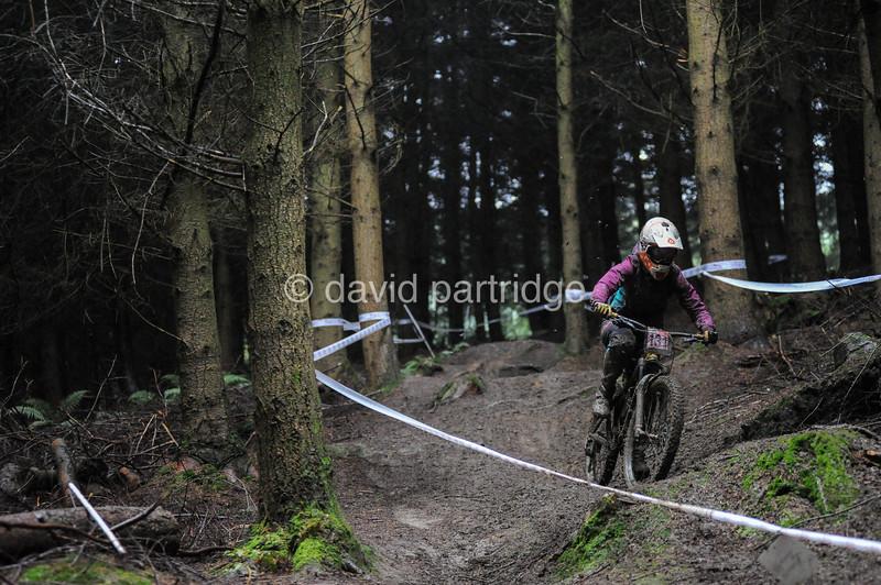 HSBC UK National Downhill Series Round 5, Bringewood, Ludlow, Shropshire, UK.