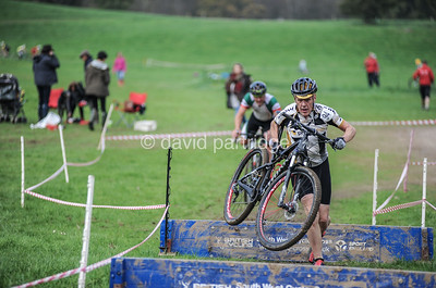South West Cyclo-Cross Race, Escot Park, Ottery St Mary, Devon, ENGLAND, UK