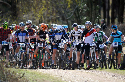 South West MTB XC Series Round 1, Woodbury, ENGLAND