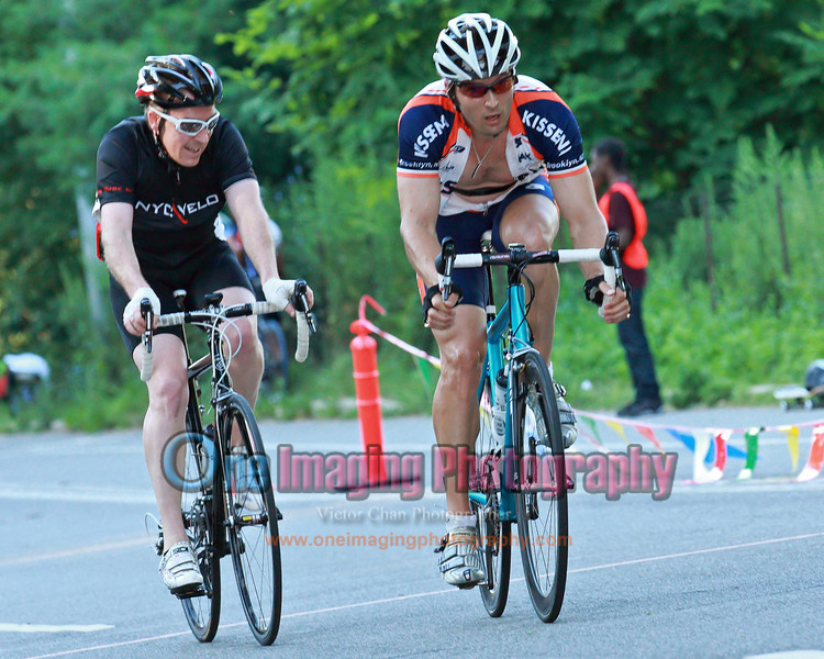 With one to go, Chris attacks again.<br />  Al Toefield Memorial Road Race 7/16/11 > Cat 4