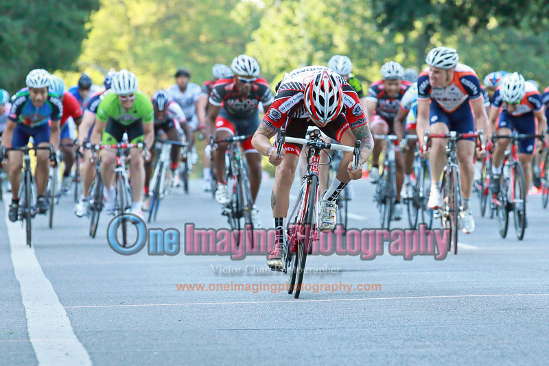 At the line.<br />  Al Toefield Memorial Road Race 7/16/11 > Cat 4