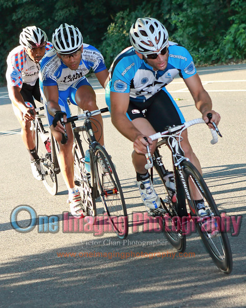 The chase group.<br />  Al Toefield Memorial Road Race 7/16/11 > Pro123
