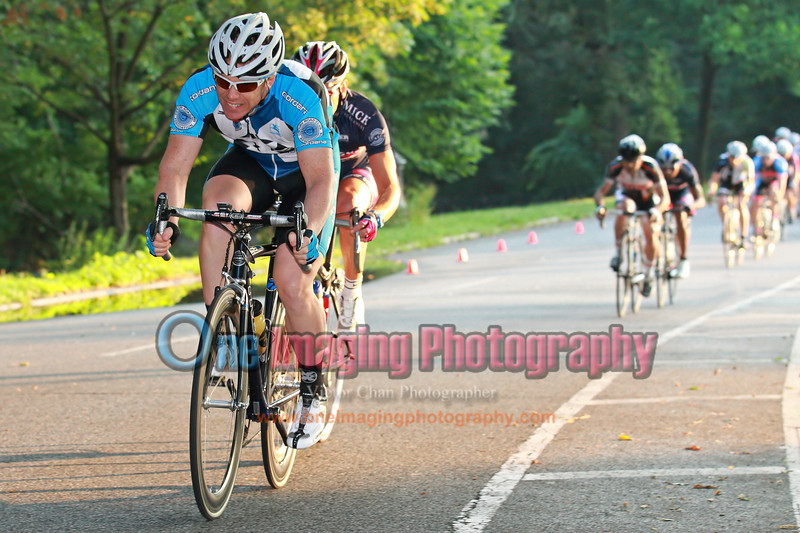Early reaction from the field, lap 1.<br />  Brooklyn Grand Prix 7/9/11 > Masters