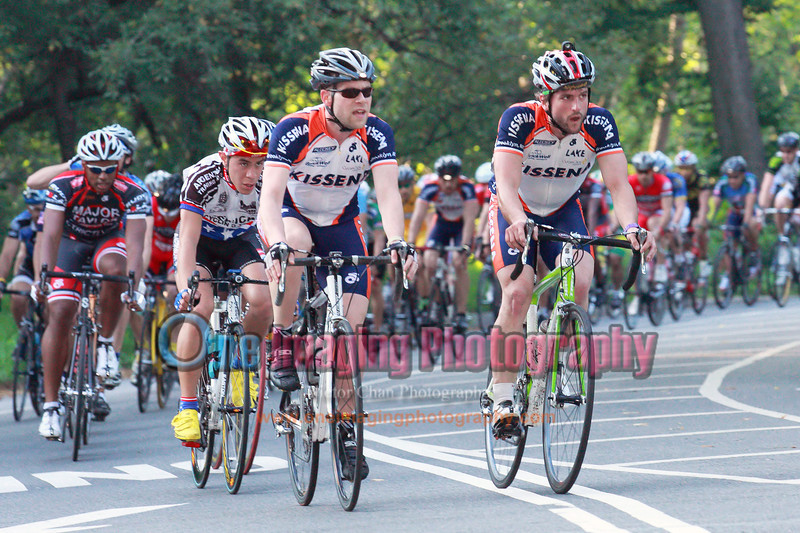Kissena scoring most of the KOM and Sprint points<br />  Lucarelli & Castaldi Cup race 6/26/11 > Cat 4