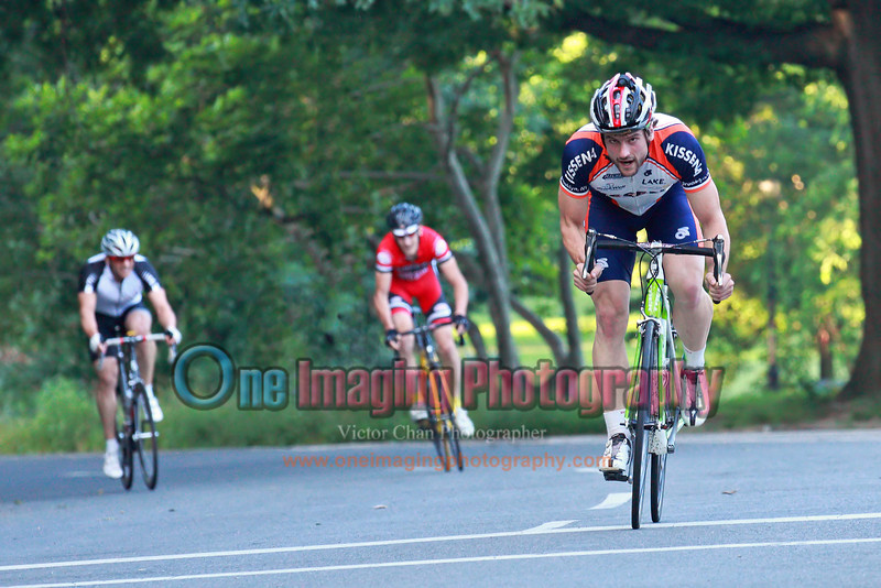 Taking KOM points.<br />  Lucarelli & Castaldi Cup race 6/26/11 > Cat 4