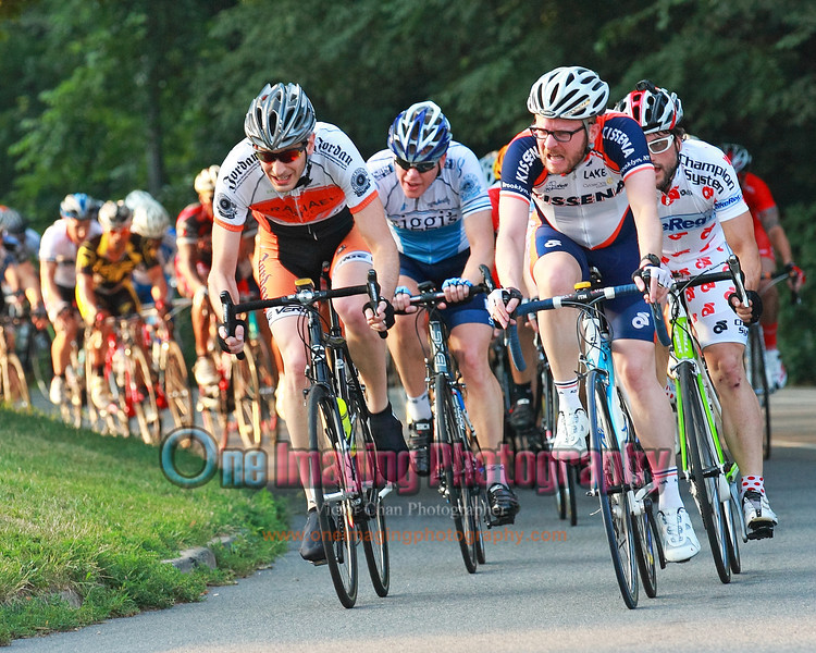 The break was short lived and all comes back together on the climb.  Lap 5.<br />  Lucarelli & Castaldi Cup race 7/23/11 > Cat 4