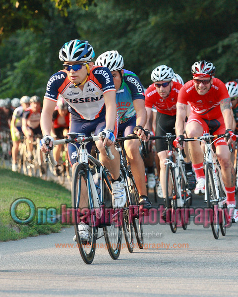 Joji going up on the climb near the front.<br />  Lucarelli & Castaldi Cup race 7/23/11 > Cat 4