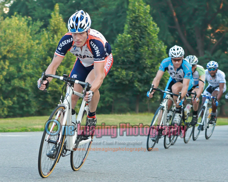 Keith in the front of the field.  Lap 2.<br />  Lucarelli & Castaldi Cup race 7/23/11 > Pro 123
