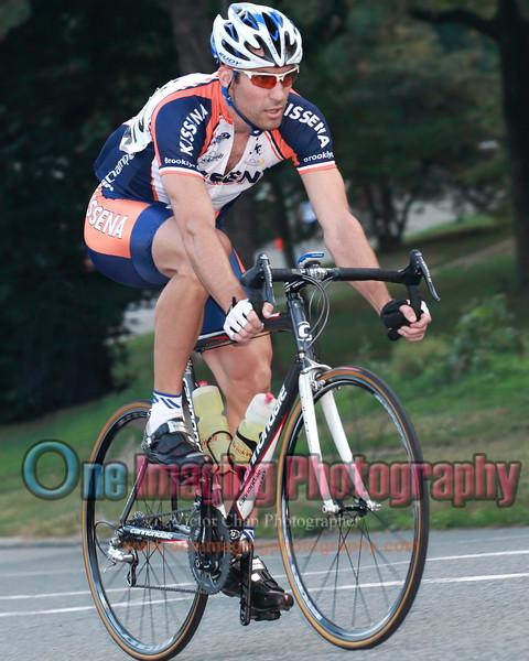 Eric from Kissena.  Lap 1.<br />  Lucarelli & Castaldi Cup race 7/23/11 > Pro 123