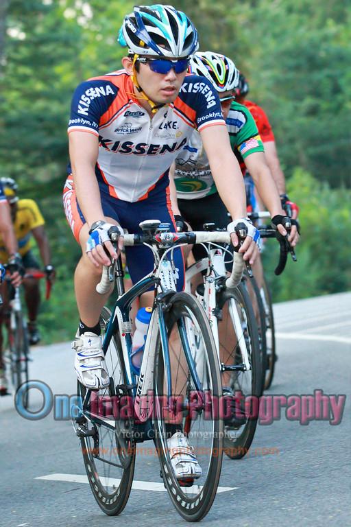 Joji with the rest of the field.<br />  Lucarelli & Castaldi Cup race 8/6/11 > Cat 4