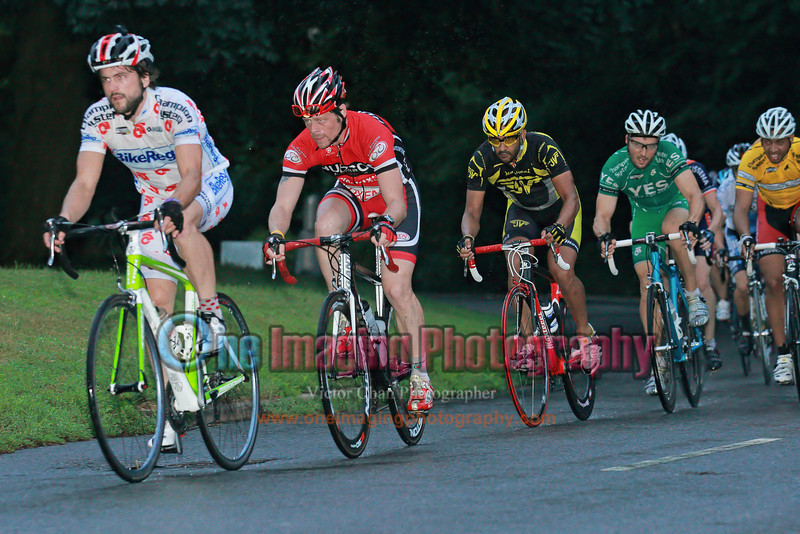 12<br /> All the point leaders in the series are at the front.  Lap 2.<br />  Lucarelli & Castaldi Cup race 8/7/11 > Cat 4