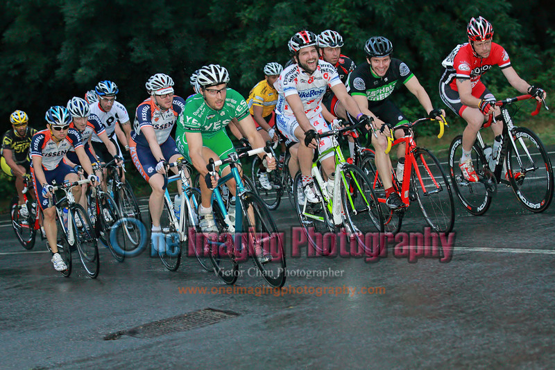 14<br /> First lap on the climb.  The field is thinned out at the start.<br />  Lucarelli & Castaldi Cup race 8/7/11 > Cat 4