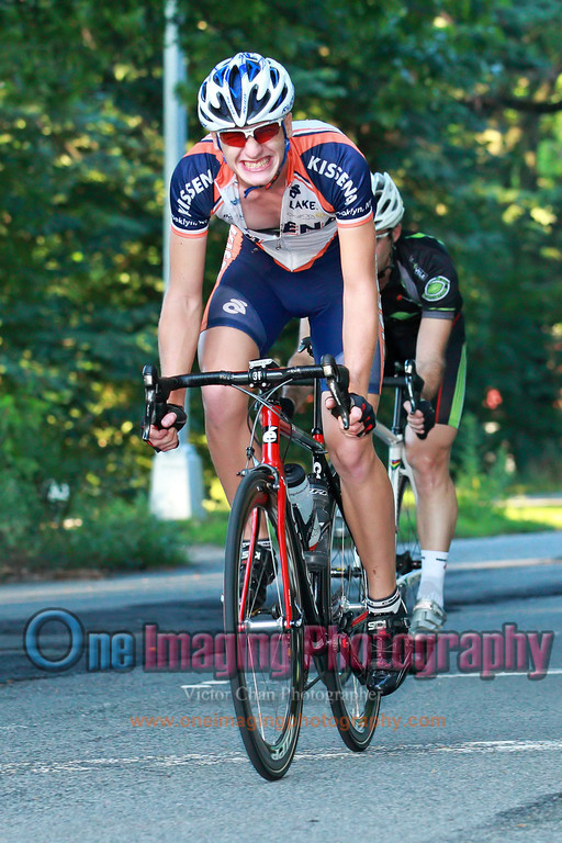 Wojciech is taking easy today for the Tour of Catskill.  Lap 3.<br />  Mangoseed Restaurant-WS United Race 7/31/11 > Cat 3