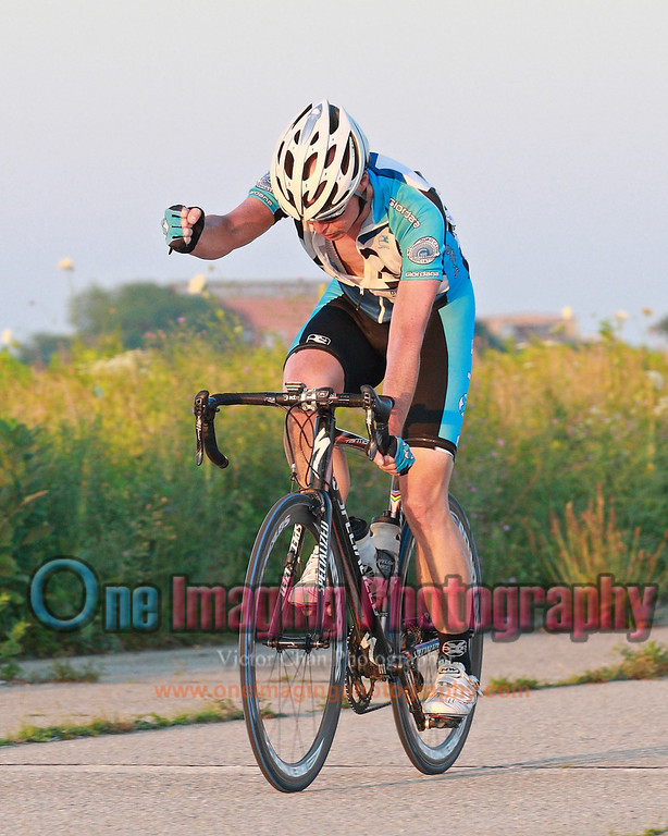 At the line.<br /> Tuesday Night Race at FBF 7/5/11 > Cat 3 and 4