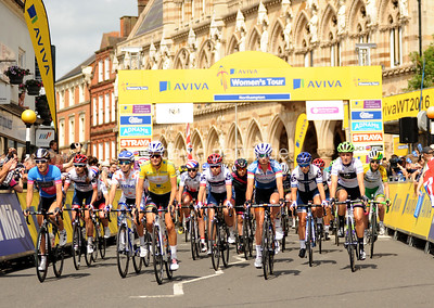 Aviva Women's Tour Stage 5, Nottingham to Stoke-on-Trent, ENGLAND, UK