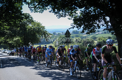 Hatherleigh Junior Road Race, British Cycling National Junior Road Race Series, Hatherleigh, Devon. July 8th 2018