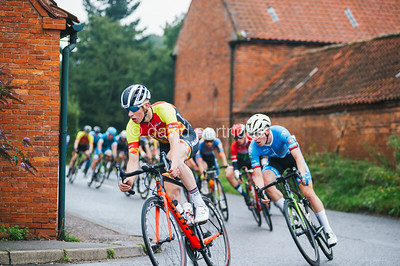 British Cycling Junior Men's and Junior Women's National Road Race Championships, Bassingham, Lincolnshire, July 28th 2019