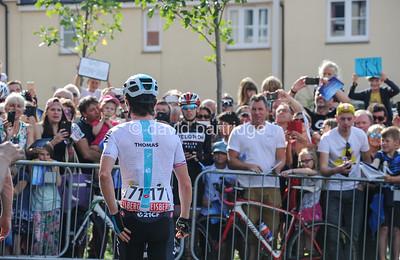 OVO Energy Tour of Britain, Stage 2. Cranbrook, Devon, ENGLAND, UK.