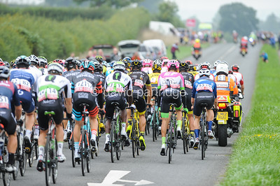 OVO Energy Tour of Britain, Stage 3. Bishop Sutton, Somerset, ENGLAND, UK.