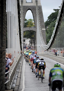 The Tour of Britain, Stage 7b. BRISTOL, ENGLAND