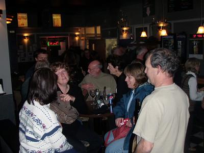 Banquet at Tommy Guns Nov. 2009
