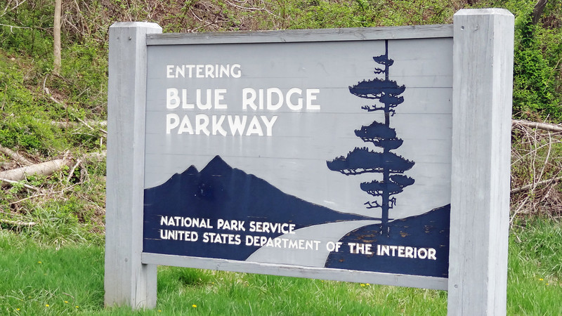 The Blue Ridge Parkway and Shenandoah's Skyline Trail runs from North Caroline to the northern tip of Virginia. It is 574 miles of non-commercial paved highway with lots of look offs, hiking trails, camp grounds, information centers, country farms and many, many ups and downs.