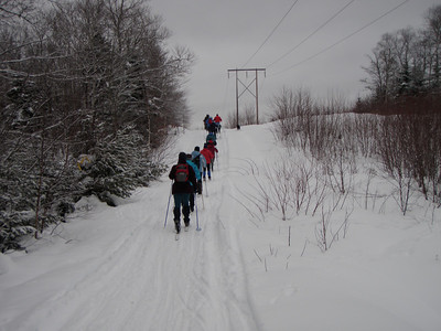 Skiing, Hiking Winter 2010 Centennial