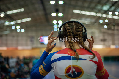 British National Youth and Junior Track Championships 2019. 2000m Pursuit Championship - Female  U16, Newport Velodrome
