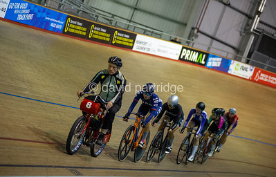 British National Youth and Junior Track Championships 2019. Keirin Championship - Female Junior, Newport Velodrome